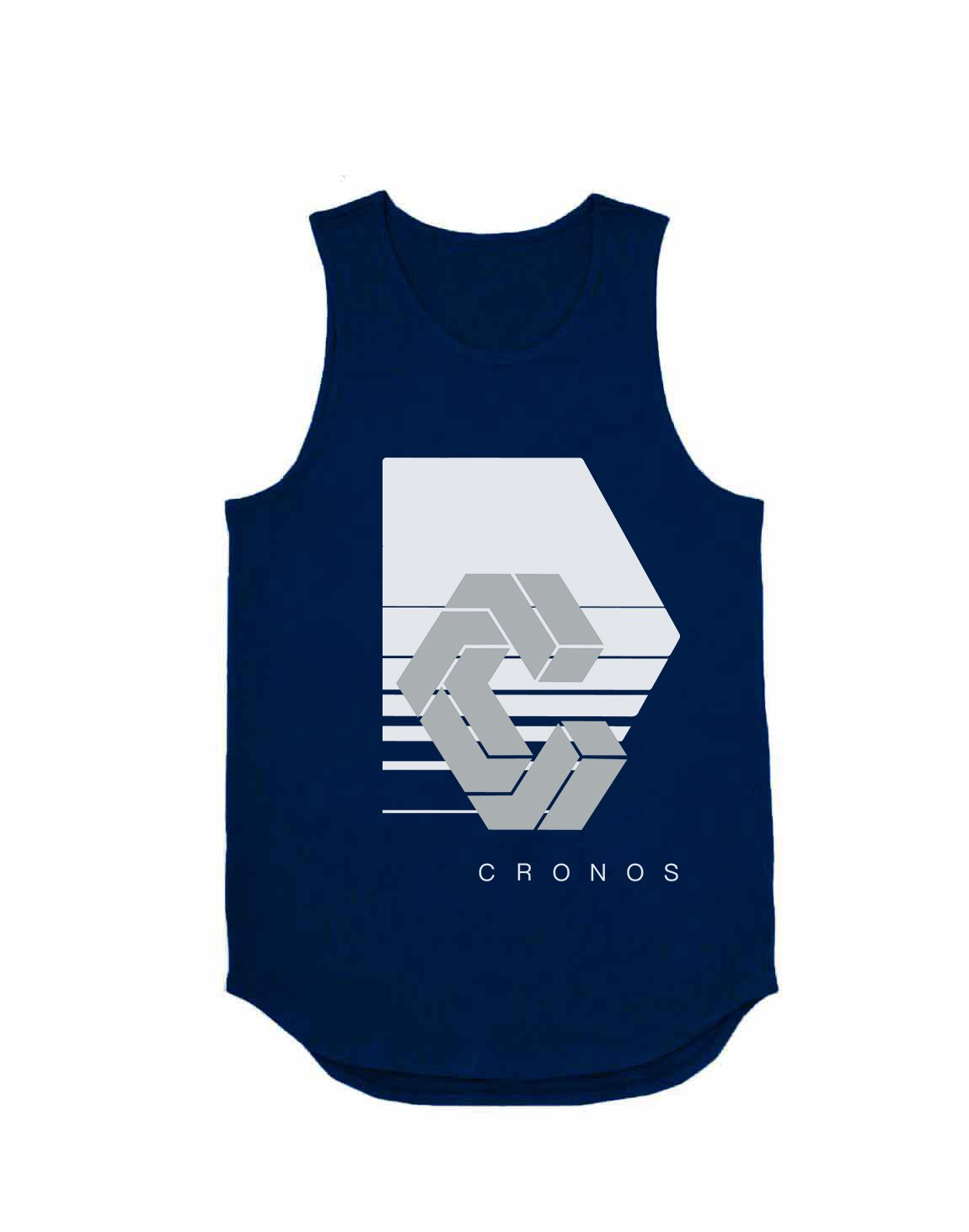 <img class='new_mark_img1' src='https://img.shop-pro.jp/img/new/icons1.gif' style='border:none;display:inline;margin:0px;padding:0px;width:auto;' />CRONOS REFLECTION LOGO TANK TOP【NAVY】