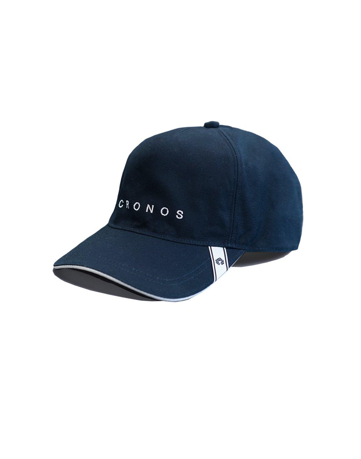 CRONOS FONT LOGO CAP【NAVY】