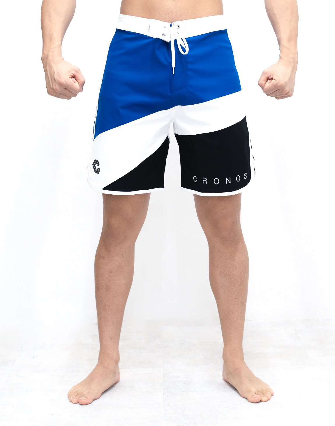 CRONOS THREE COLORS BOARD SHORTS【BLUE】