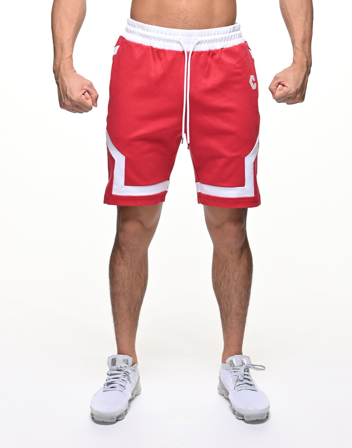 <img class='new_mark_img1' src='https://img.shop-pro.jp/img/new/icons55.gif' style='border:none;display:inline;margin:0px;padding:0px;width:auto;' />CRONOS BACK LOGO SHORTS【RED】