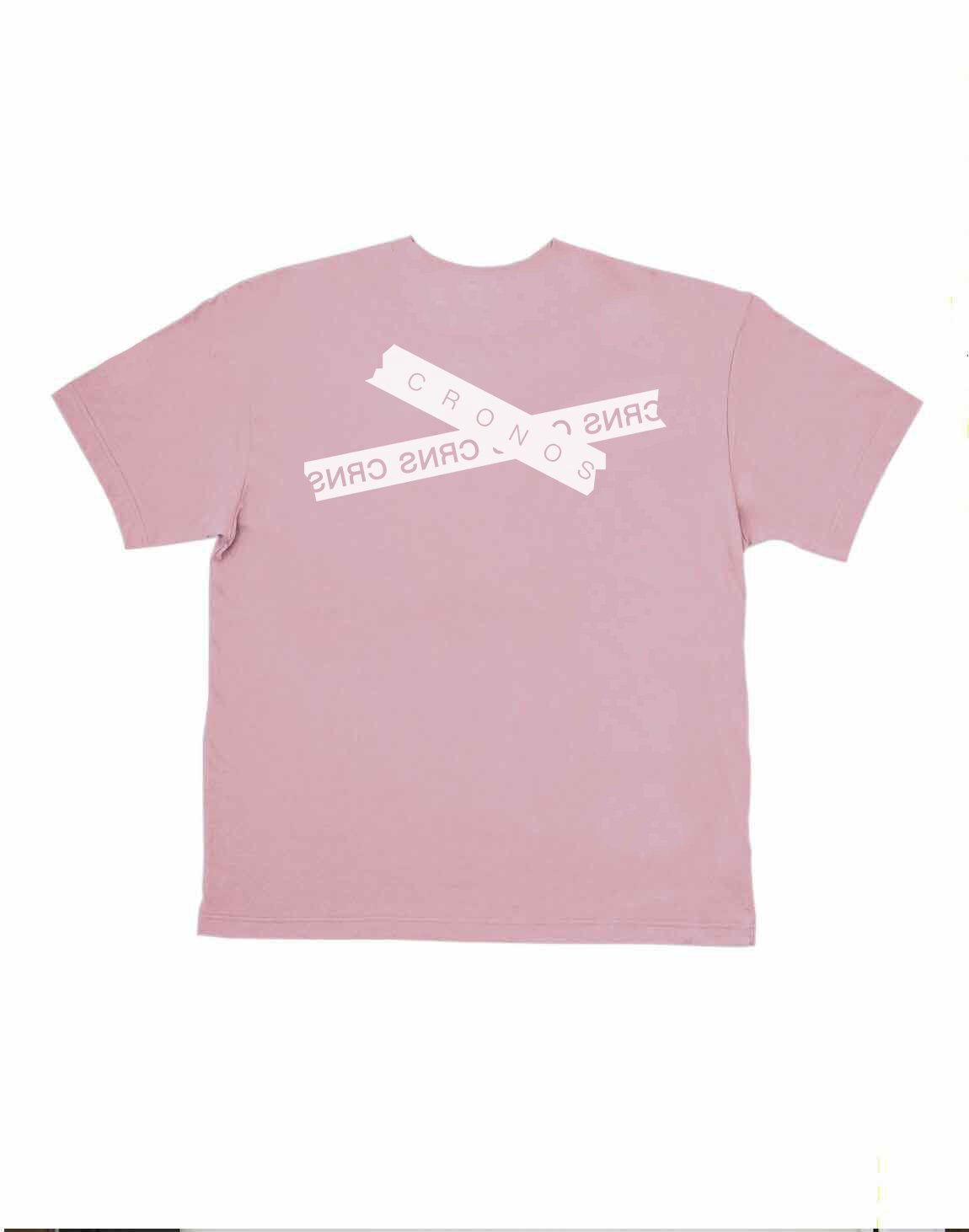 <img class='new_mark_img1' src='https://img.shop-pro.jp/img/new/icons1.gif' style='border:none;display:inline;margin:0px;padding:0px;width:auto;' />CRONOS TAPE LOGO OVER SIZE T-SHIRTS【PINK】