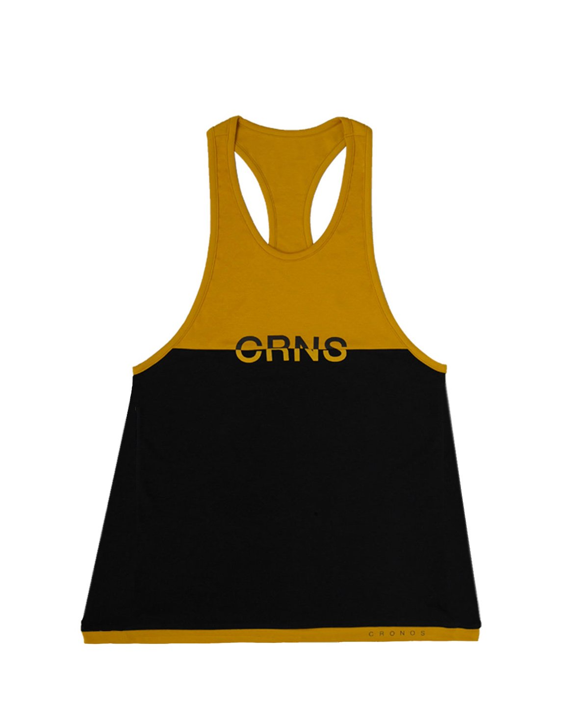 <img class='new_mark_img1' src='https://img.shop-pro.jp/img/new/icons55.gif' style='border:none;display:inline;margin:0px;padding:0px;width:auto;' />CRNS Bi-COLOR TANK TOP【BLACK×YELLOW】
