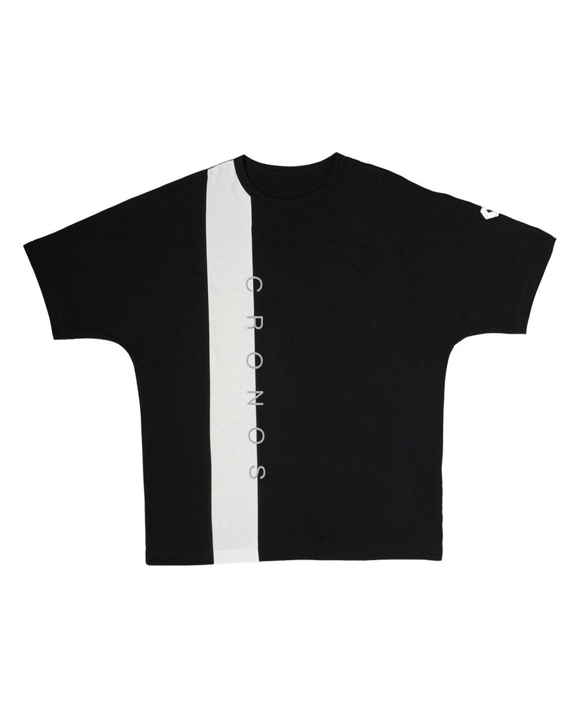 <img class='new_mark_img1' src='https://img.shop-pro.jp/img/new/icons1.gif' style='border:none;display:inline;margin:0px;padding:0px;width:auto;' />CRONOS VERTICAL LINE OVER SIZE T-SHIRTS【BLACK】