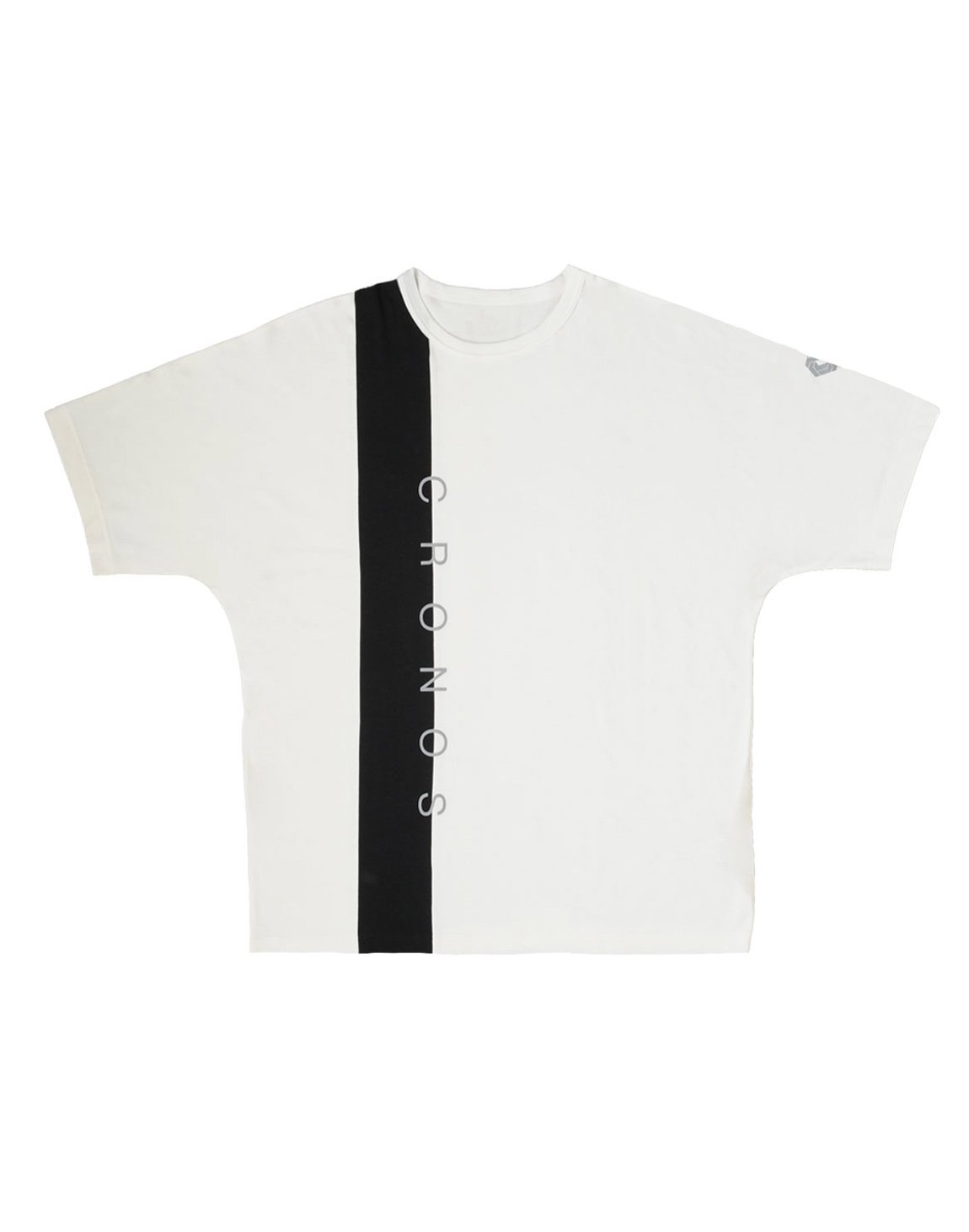 <img class='new_mark_img1' src='https://img.shop-pro.jp/img/new/icons1.gif' style='border:none;display:inline;margin:0px;padding:0px;width:auto;' />CRONOS VERTICAL LINE OVER SIZE T-SHIRTS【WHITE】