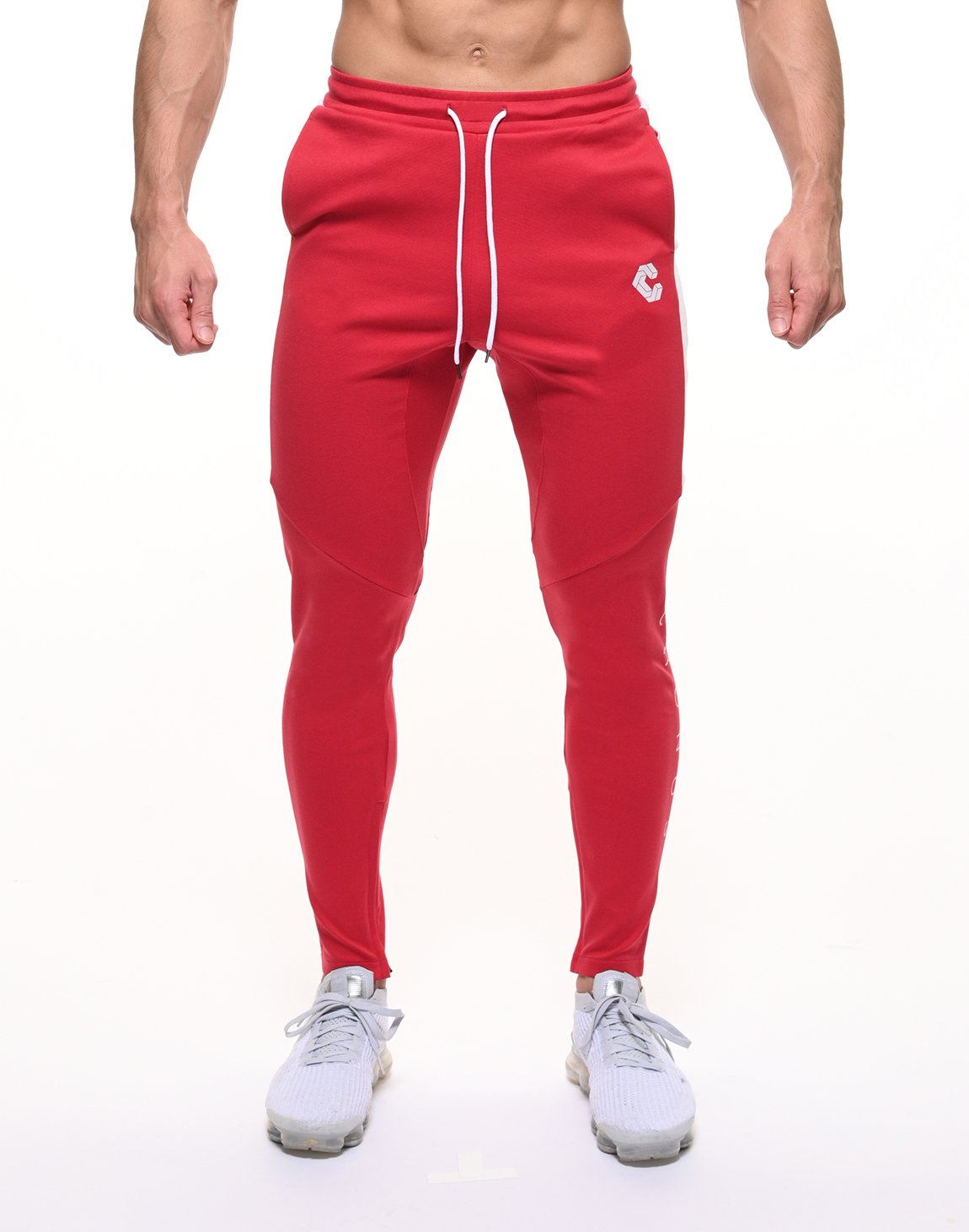 <img class='new_mark_img1' src='https://img.shop-pro.jp/img/new/icons1.gif' style='border:none;display:inline;margin:0px;padding:0px;width:auto;' />CRONOS HALF LINE PANTS【RED】