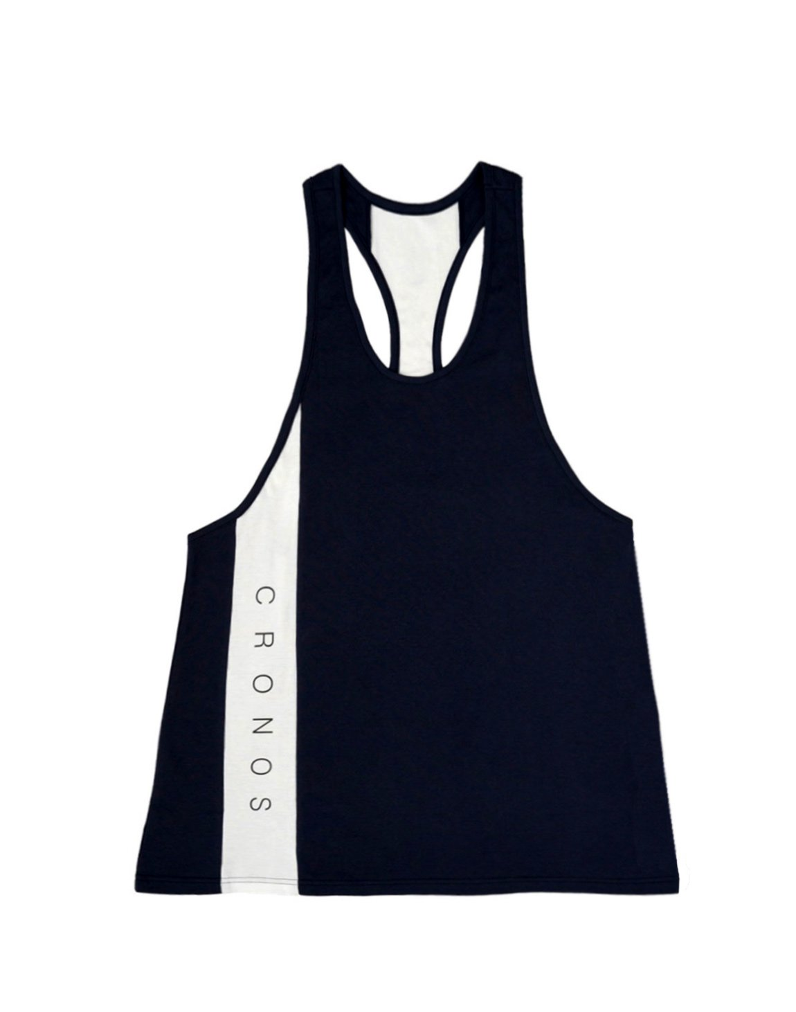 <img class='new_mark_img1' src='https://img.shop-pro.jp/img/new/icons55.gif' style='border:none;display:inline;margin:0px;padding:0px;width:auto;' />CRONOS NEW LINE TANK TOP【BLACK】