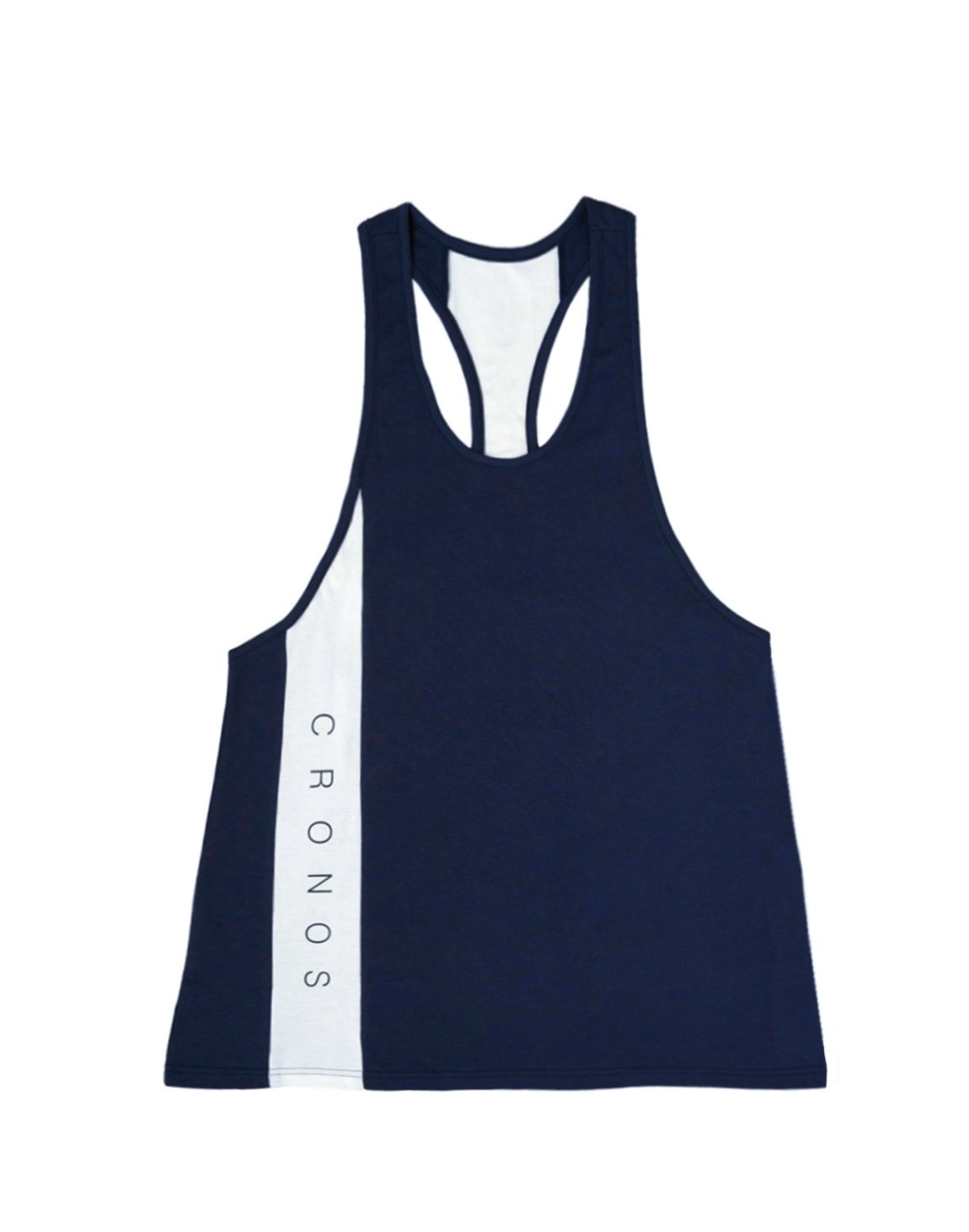 <img class='new_mark_img1' src='https://img.shop-pro.jp/img/new/icons55.gif' style='border:none;display:inline;margin:0px;padding:0px;width:auto;' />CRONOS NEW LINE TANK TOP【NAVY】