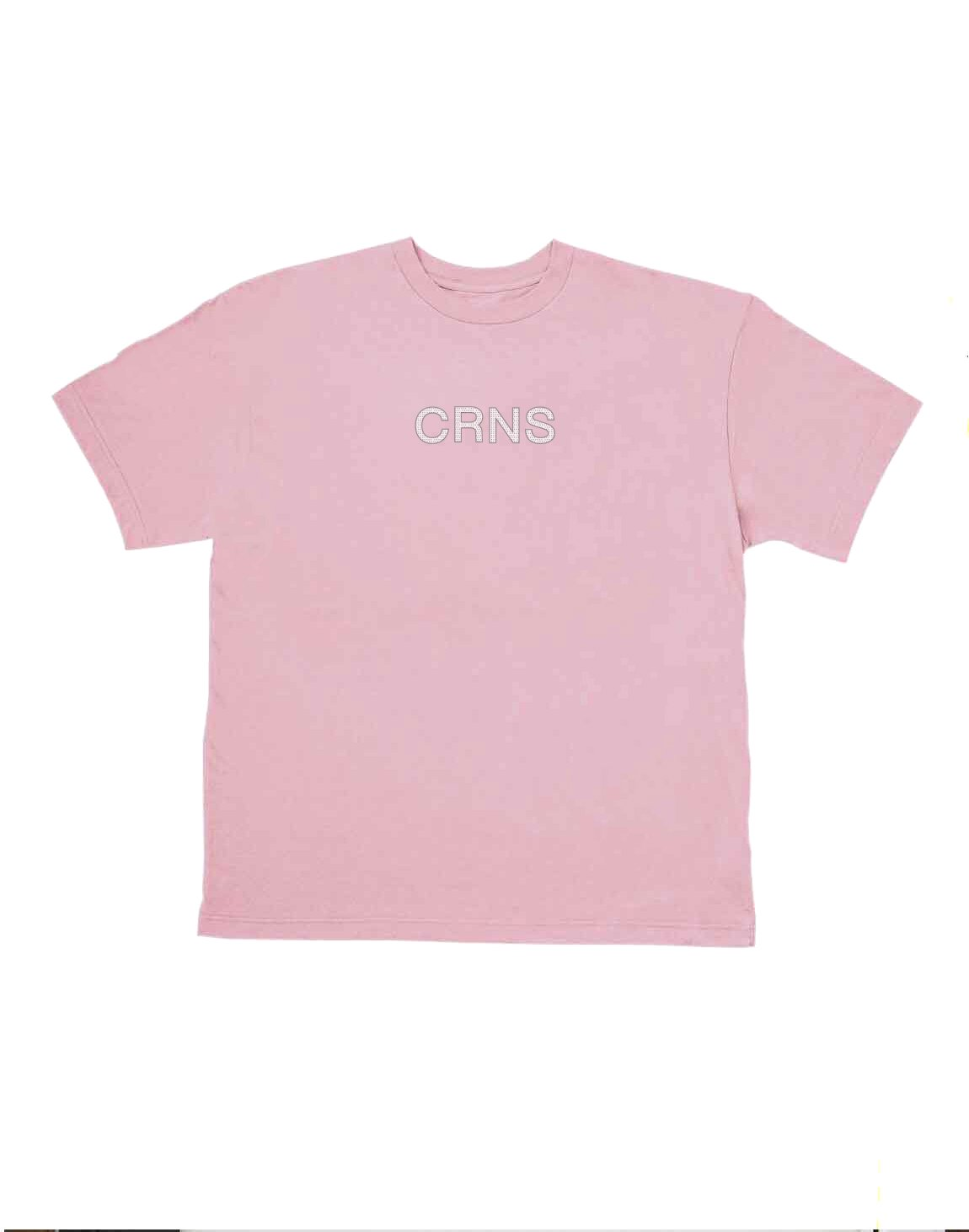 <img class='new_mark_img1' src='https://img.shop-pro.jp/img/new/icons1.gif' style='border:none;display:inline;margin:0px;padding:0px;width:auto;' />CRNS DOT LOGO OVERSIZE T-SHIRTS【PINK】