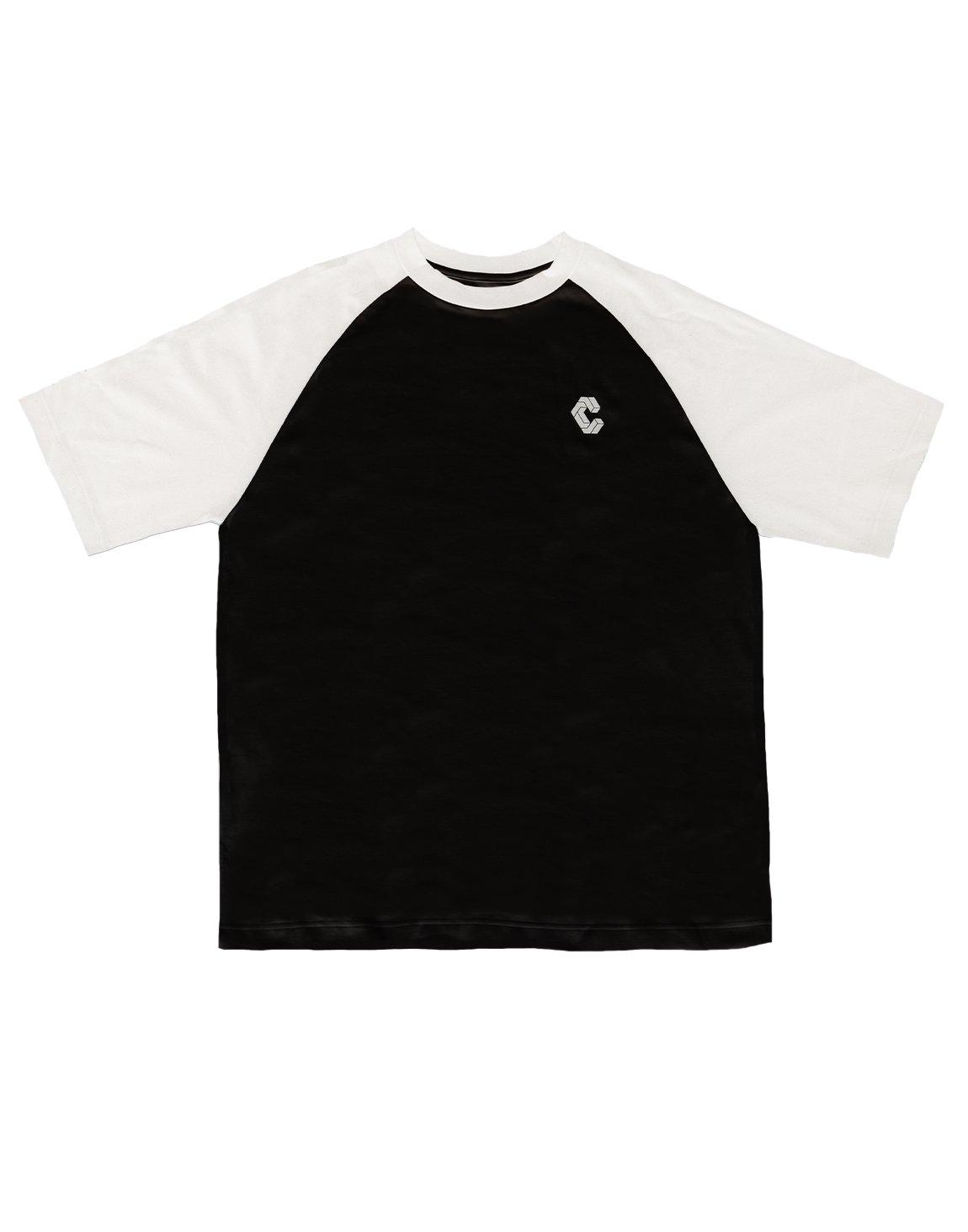 CRONOS BACK LOGO OVERSIZE T-SHIRTS【BLACK】