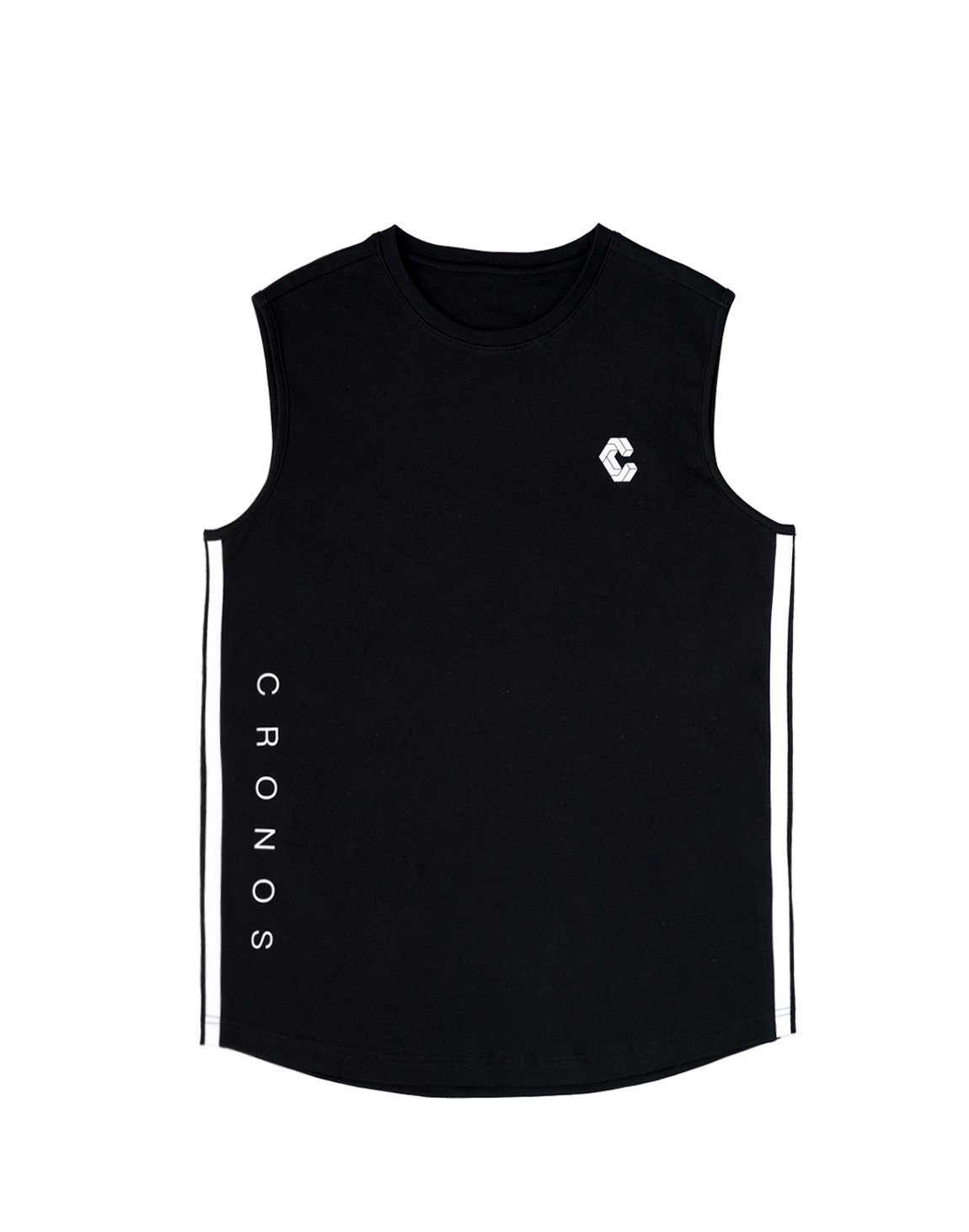 <img class='new_mark_img1' src='https://img.shop-pro.jp/img/new/icons55.gif' style='border:none;display:inline;margin:0px;padding:0px;width:auto;' />CRONOS NEW 2STRIPE TANK TOP【BLACK】