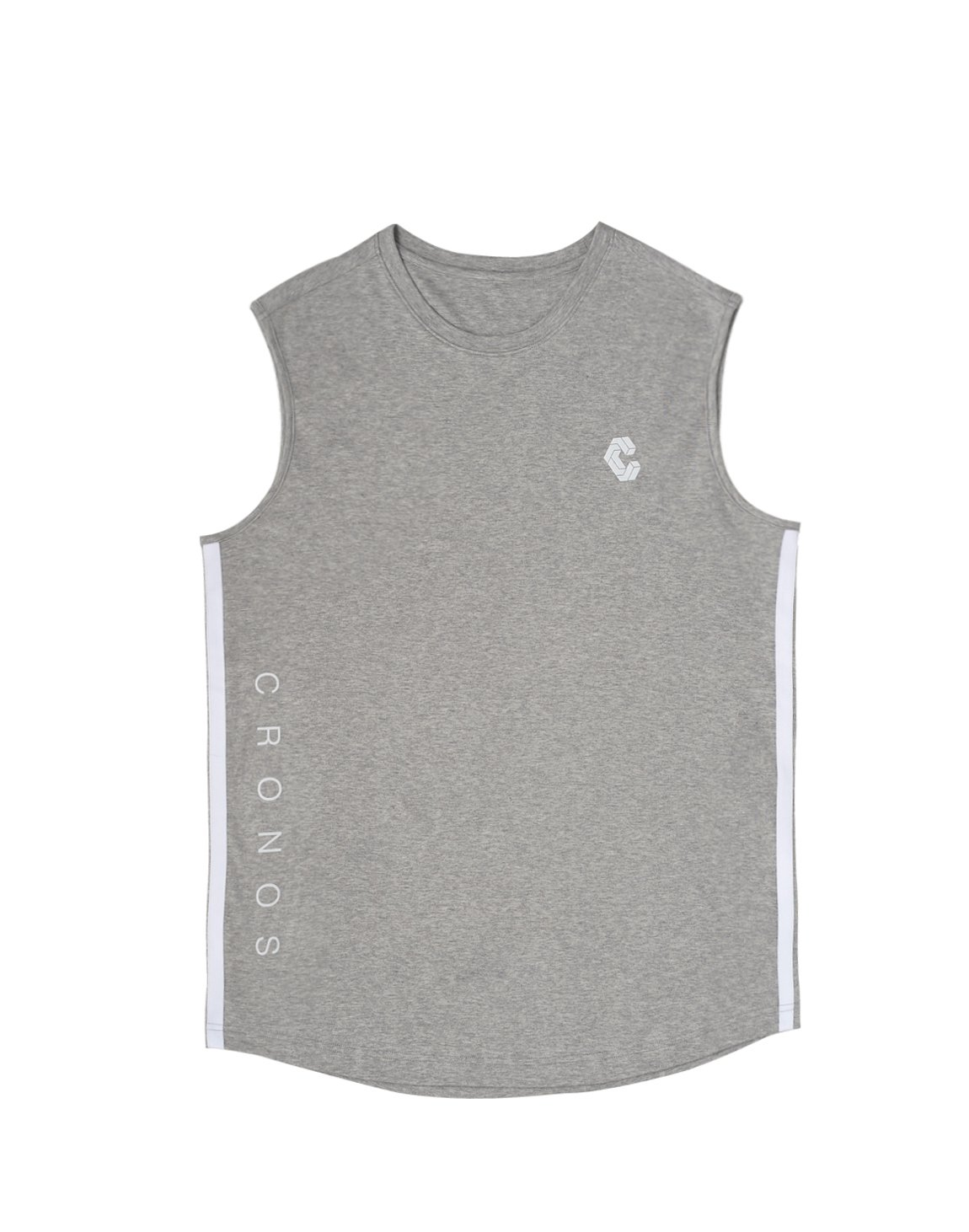 <img class='new_mark_img1' src='https://img.shop-pro.jp/img/new/icons55.gif' style='border:none;display:inline;margin:0px;padding:0px;width:auto;' />CRONOS NEW 2STRIPE TANK TOP【T.GRAY】