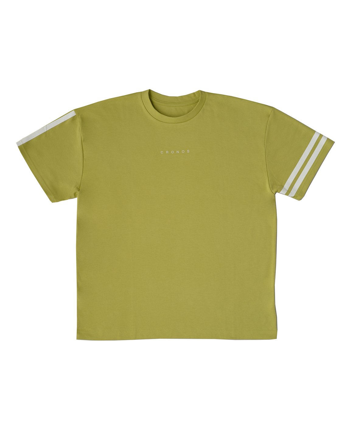 CRONOS  SIDE  LINE NEW OVER SIZE T-SHIRTS【GREEN】