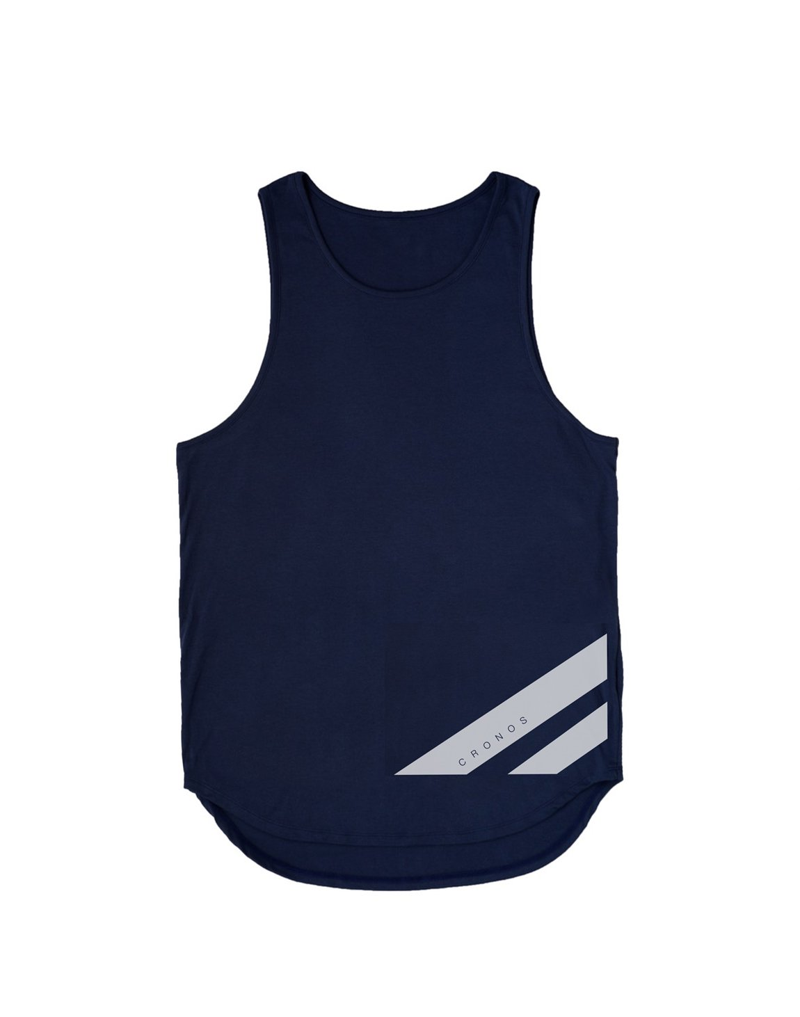 <img class='new_mark_img1' src='https://img.shop-pro.jp/img/new/icons55.gif' style='border:none;display:inline;margin:0px;padding:0px;width:auto;' />CRONOS NEW STRIPE LOGO TANKTOP【NAVY】