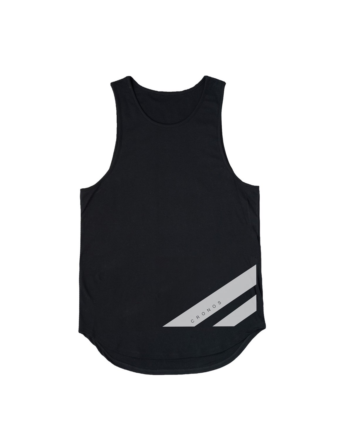 <img class='new_mark_img1' src='https://img.shop-pro.jp/img/new/icons1.gif' style='border:none;display:inline;margin:0px;padding:0px;width:auto;' />CRONOS NEW STRIPE LOGO TANKTOP【BLACK】