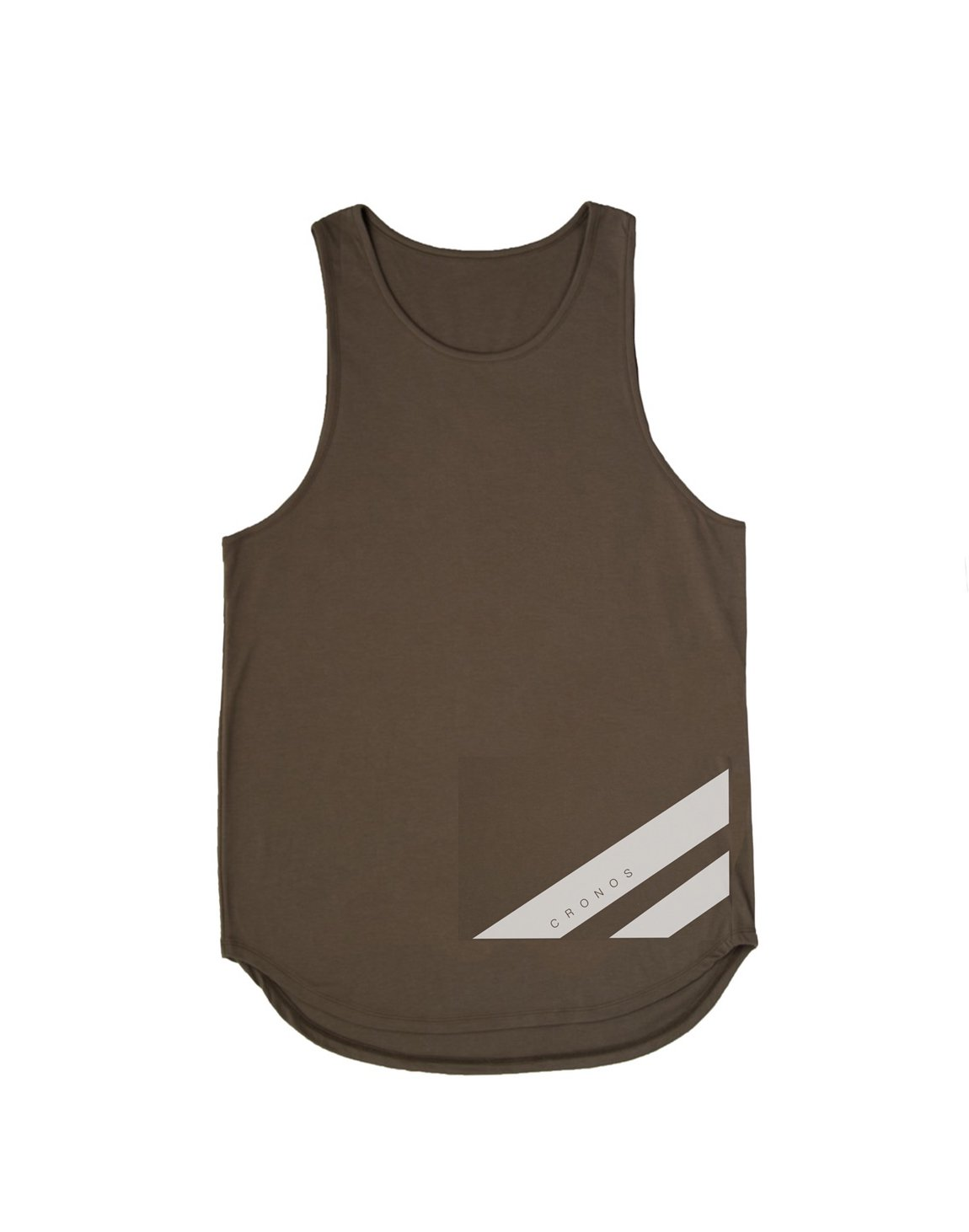 <img class='new_mark_img1' src='https://img.shop-pro.jp/img/new/icons55.gif' style='border:none;display:inline;margin:0px;padding:0px;width:auto;' />CRONOS NEW STRIPE LOGO TANKTOP【KHAKI】