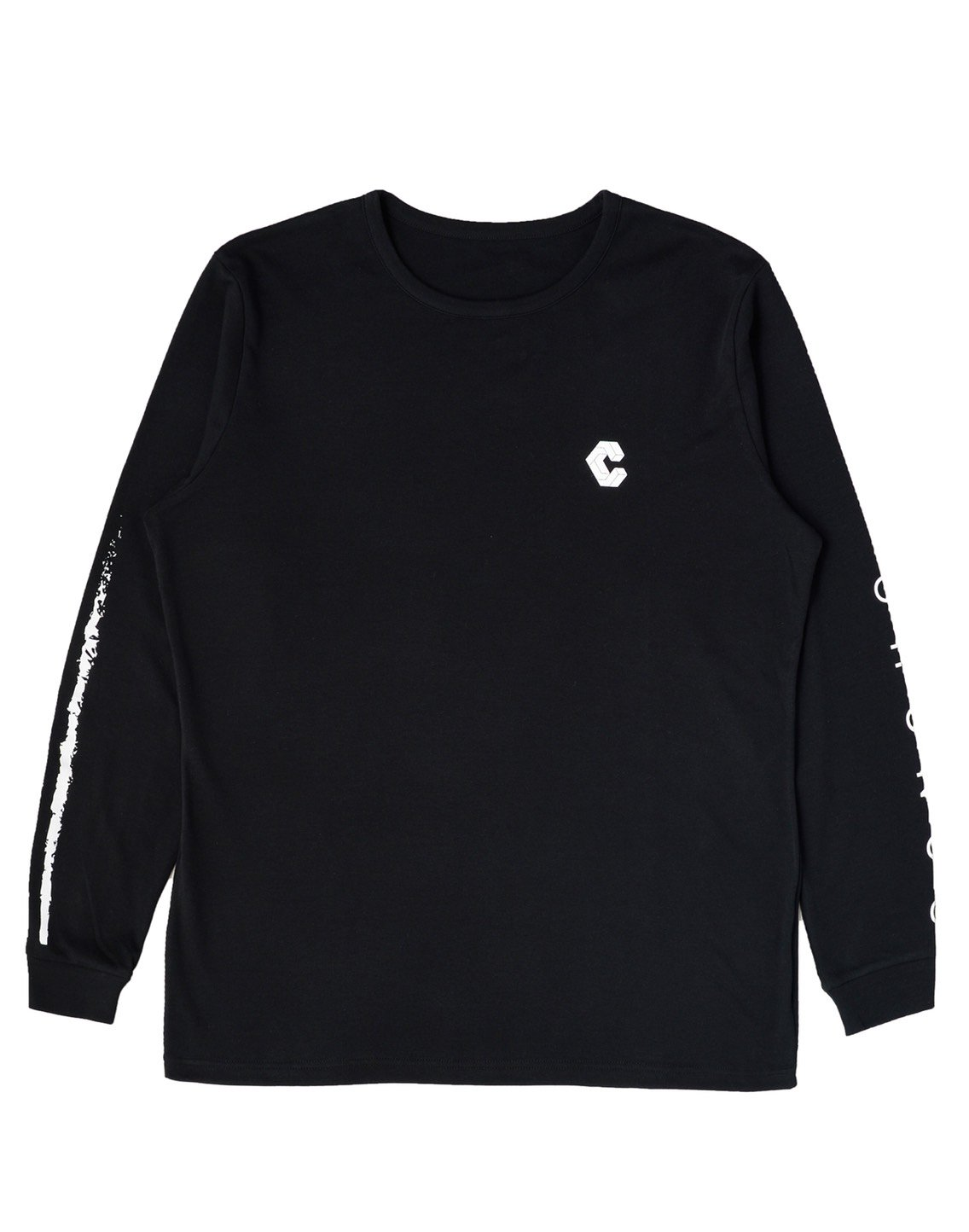 <img class='new_mark_img1' src='https://img.shop-pro.jp/img/new/icons1.gif' style='border:none;display:inline;margin:0px;padding:0px;width:auto;' />CRONOS NEW ARM LOGO LONG SLEEVE【BLACK】