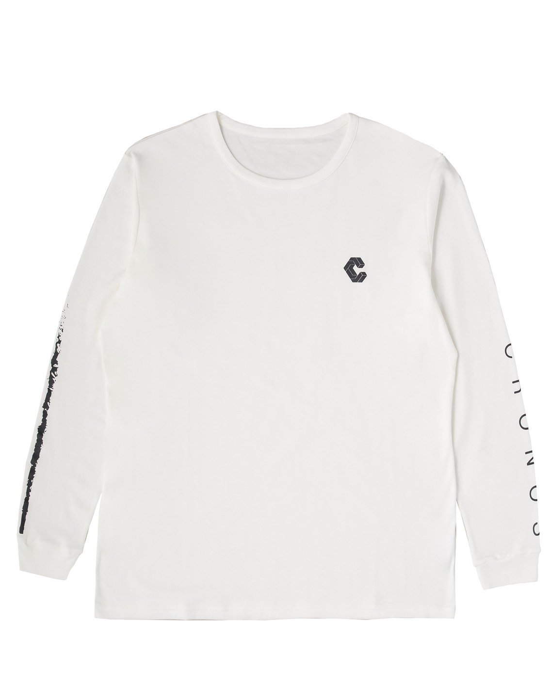 <img class='new_mark_img1' src='https://img.shop-pro.jp/img/new/icons1.gif' style='border:none;display:inline;margin:0px;padding:0px;width:auto;' />CRONOS NEW ARM LOGO LONG SLEEVE【WHITE】