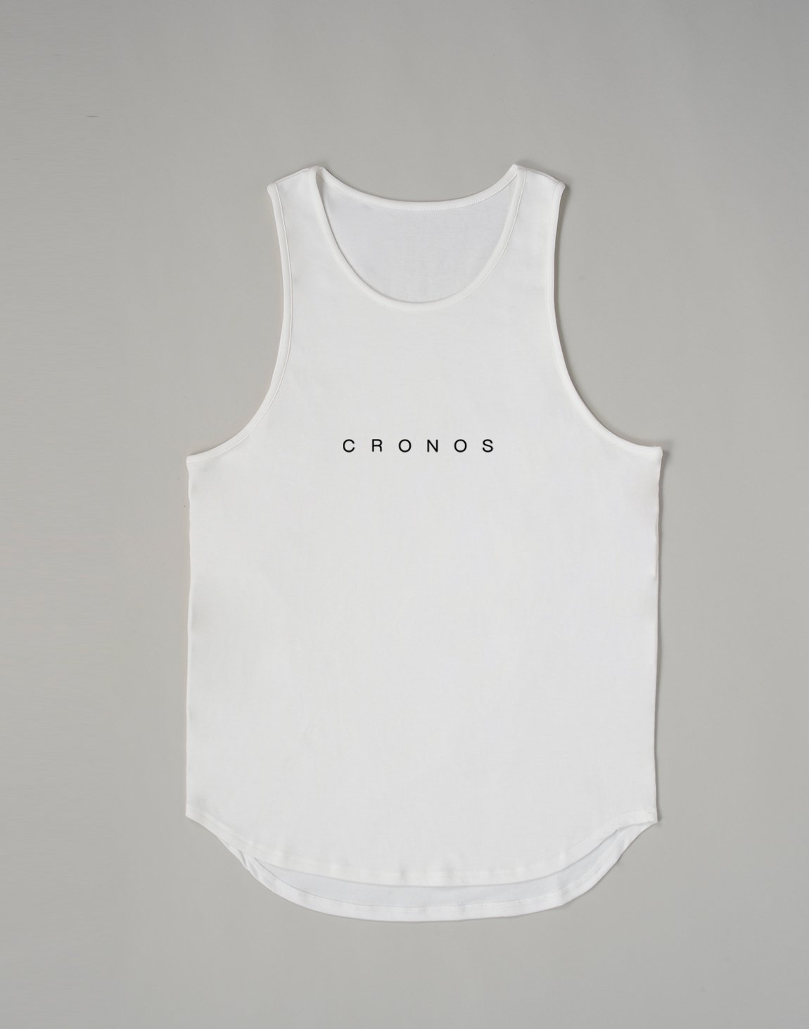 <img class='new_mark_img1' src='https://img.shop-pro.jp/img/new/icons1.gif' style='border:none;display:inline;margin:0px;padding:0px;width:auto;' />CRONOS NEW FONT LOGO TANK TOP【WHITE】