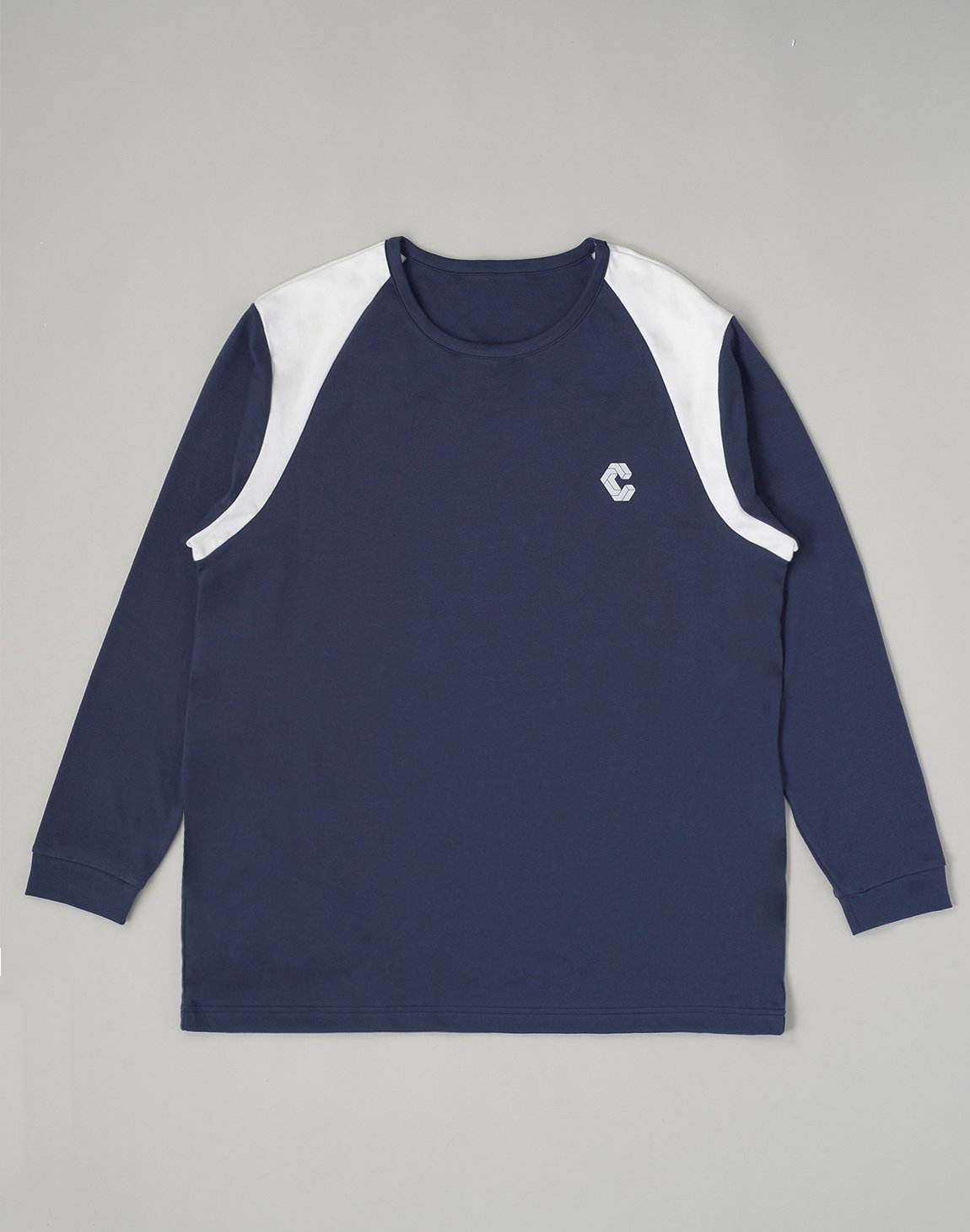 <img class='new_mark_img1' src='https://img.shop-pro.jp/img/new/icons55.gif' style='border:none;display:inline;margin:0px;padding:0px;width:auto;' />CRONOS LATS LINE LONG SLEEVE【NAVY】