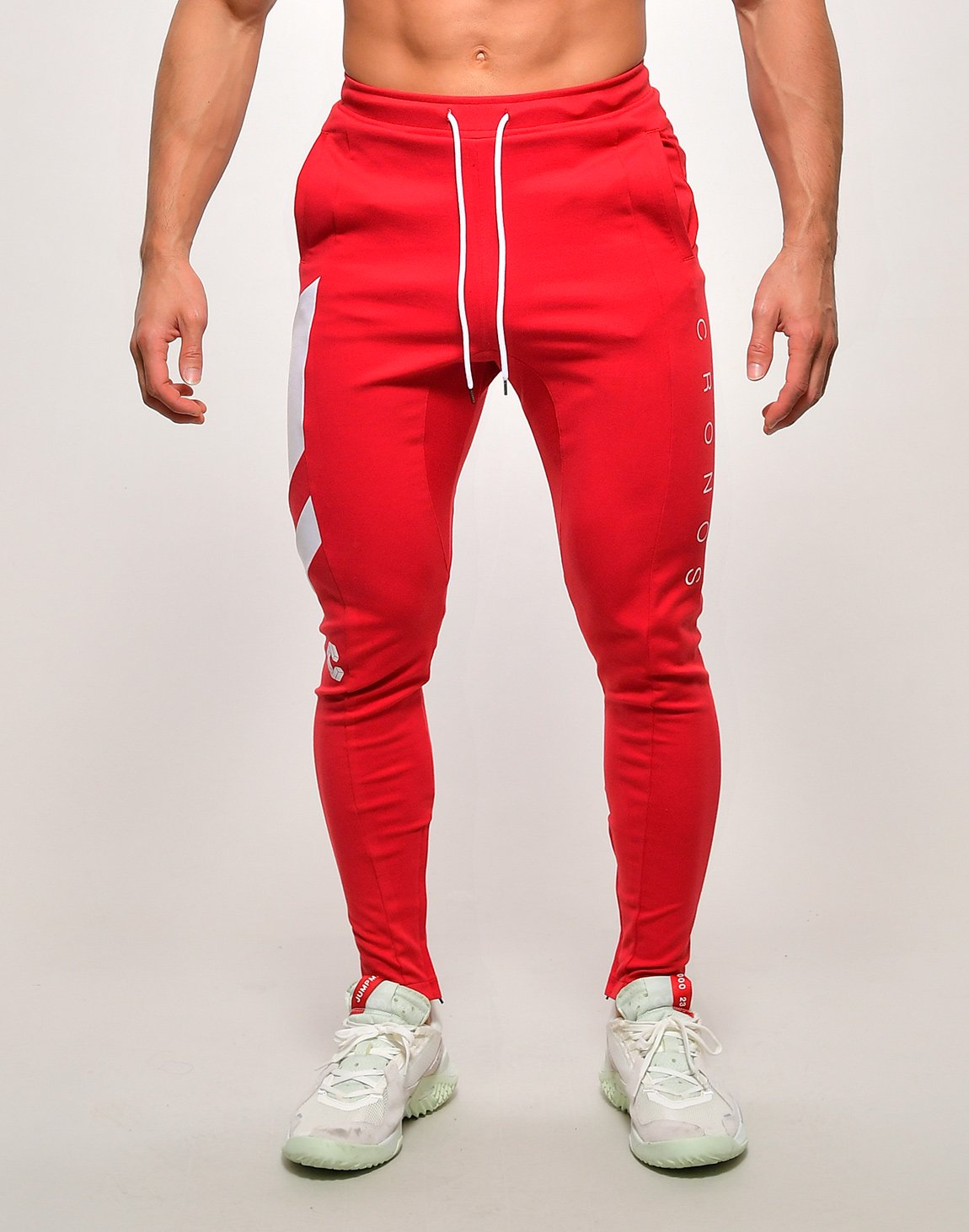 <img class='new_mark_img1' src='https://img.shop-pro.jp/img/new/icons55.gif' style='border:none;display:inline;margin:0px;padding:0px;width:auto;' />CRONOS SLANTED LINE PANTS【RED】