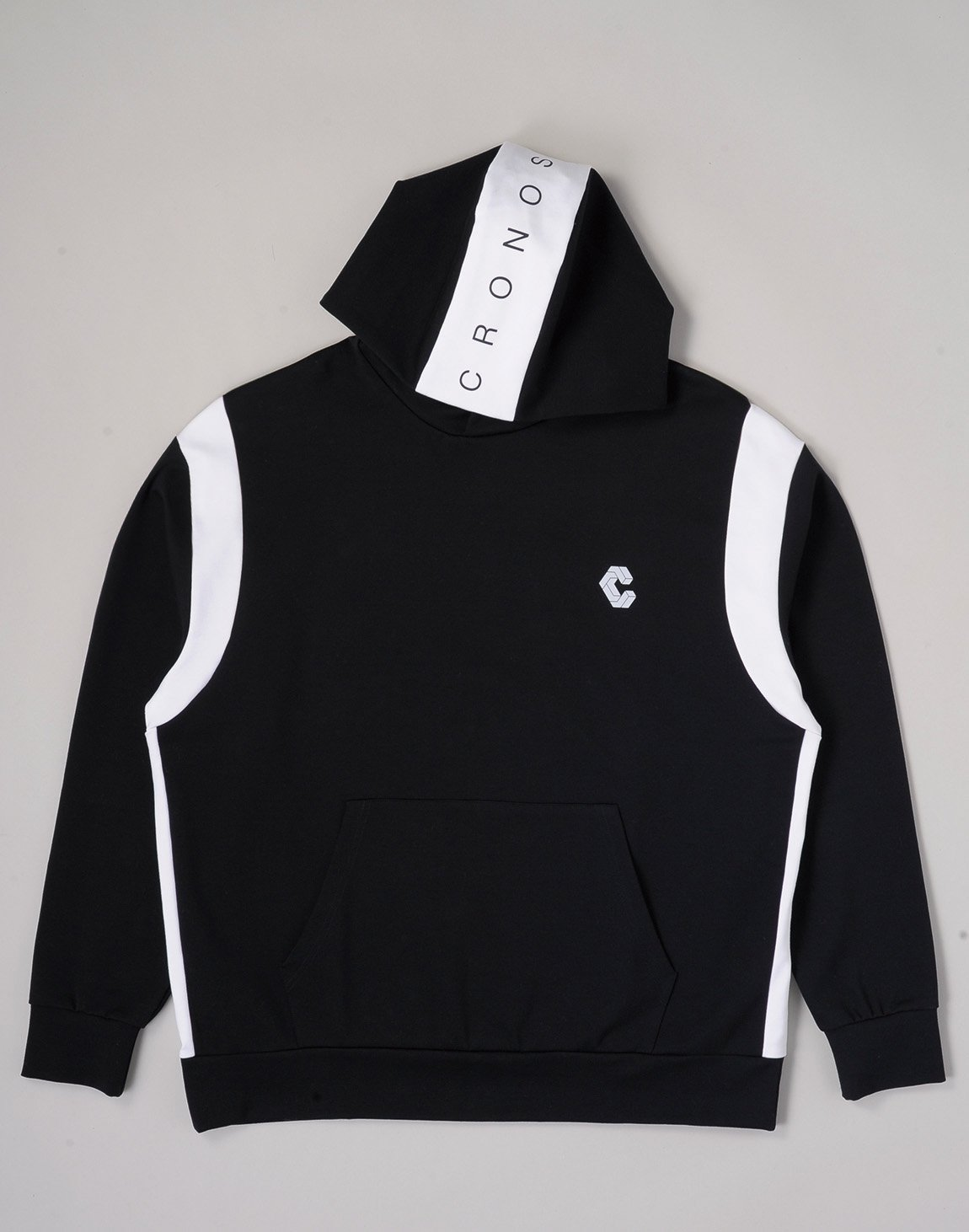 <img class='new_mark_img1' src='https://img.shop-pro.jp/img/new/icons1.gif' style='border:none;display:inline;margin:0px;padding:0px;width:auto;' />CRONOS HEAD LOGO HOODIE【BLACK×WHITE】