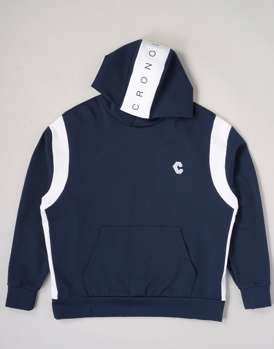 <img class='new_mark_img1' src='https://img.shop-pro.jp/img/new/icons1.gif' style='border:none;display:inline;margin:0px;padding:0px;width:auto;' />CRONOS HEAD LOGO HOODIE【NAVY×WHITE】