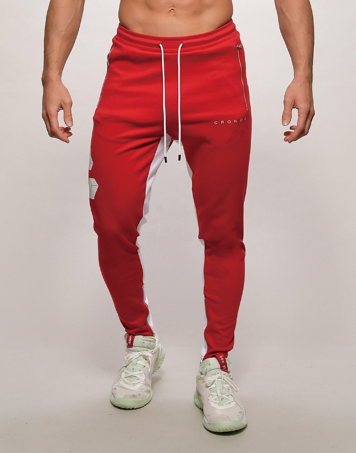 <img class='new_mark_img1' src='https://img.shop-pro.jp/img/new/icons1.gif' style='border:none;display:inline;margin:0px;padding:0px;width:auto;' />CRONOS BIG LOGO SWEET PANTS【RED】