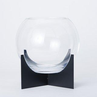 ボトルパルダリウム 専用ガラス・台座セットM