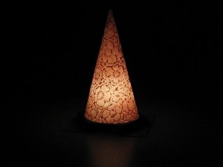 円錐形行灯