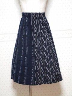 久留米絣  スカート