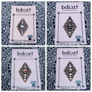bdcat hand made bindi [DIAMOND]菱形ビンディ全12色