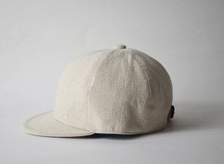 cotton linen bb cap / NATURAL