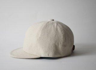 cotton linen bb cap / NATURAL