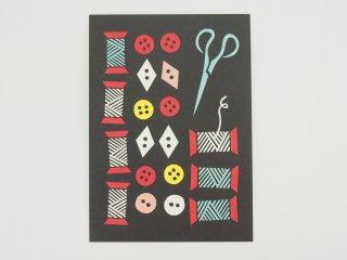 FINLAND ポストカード/ソーイング