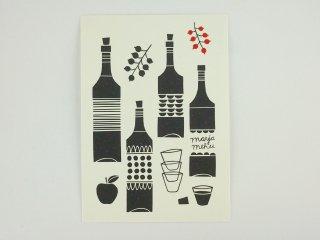 FINLAND ポストカード/ワイン(白)