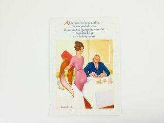 FINLAND ヴィンテージ ポストカード