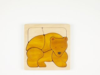 HAAPAREPPU-PALAPELIT 木製パズル クマ