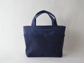 TEJIKA×middle POCKET TOTE /NAVY