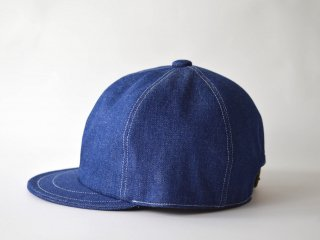 denim bb cap/ BLUE