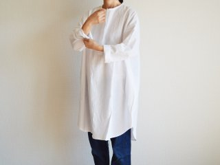 Alluaudia works Shirt one-piece /WHITE