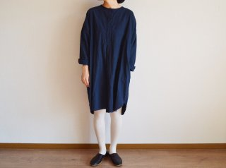 Alluaudia works Shirt one-piece/NAVY