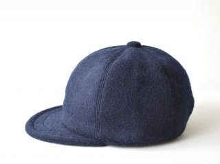wool bb cap / NAVY