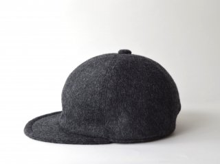 wool bb cap / GREY