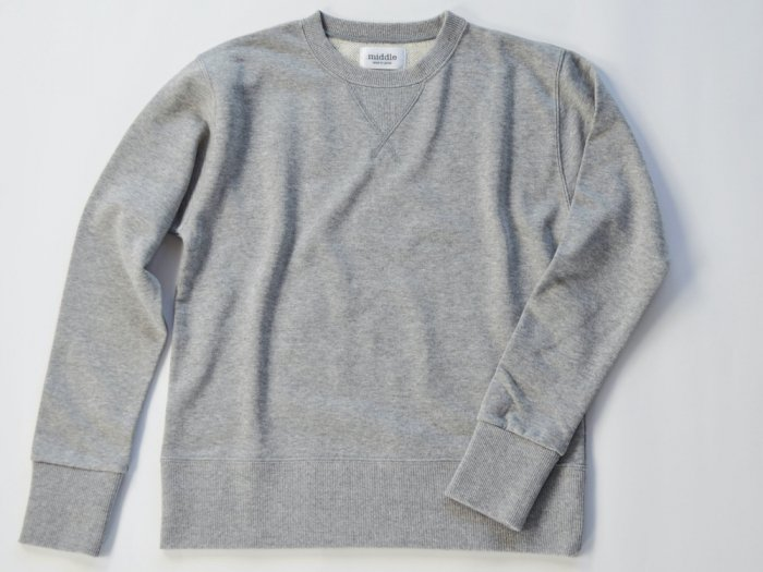 sweat crew neck / GREY
