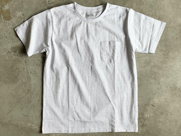 standard poc t-shirt / ASH GREY