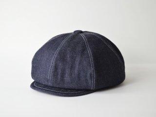denim casquette / INDIGO