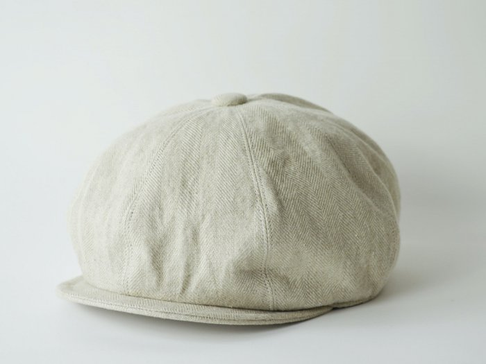 linen hb casquette / NATURAL