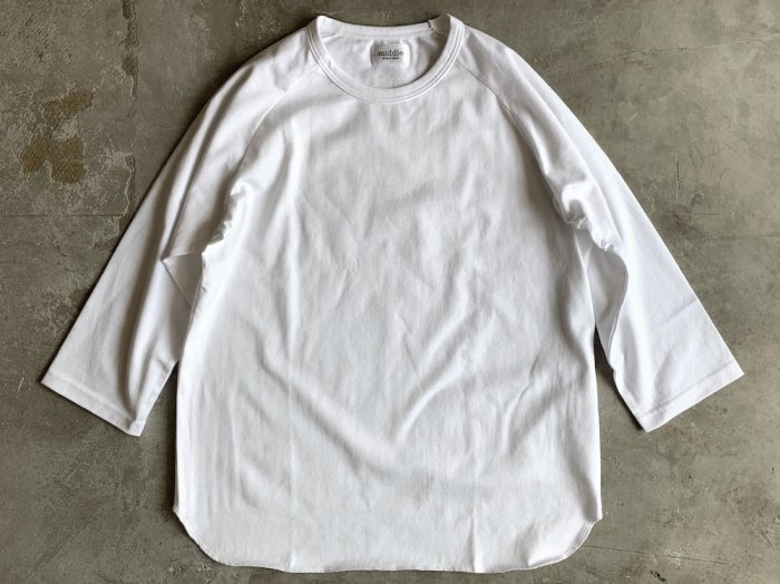 baseball t-shirt /  WHITE