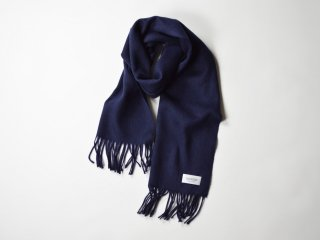<img class='new_mark_img1' src='https://img.shop-pro.jp/img/new/icons56.gif' style='border:none;display:inline;margin:0px;padding:0px;width:auto;' />wool cashmere scarf  /  NAVY