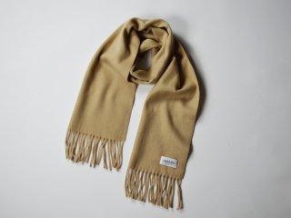 wool cashmere scarf  /  BEIGE